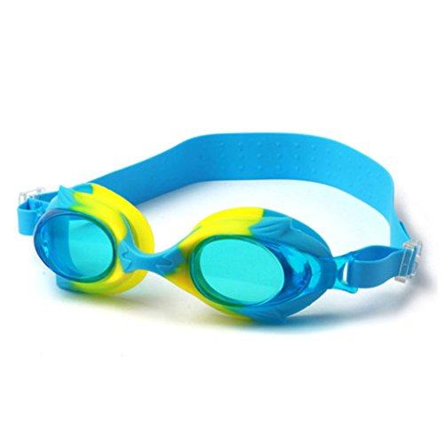 LUFA Enfants Enfants Anti brouillard Lunettes de natation Aucune fuite UV réglable Protection des lunettes de natation