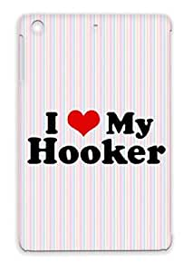 I Heart My Hooker Scratch-resistant Red For Ipad Mini Funny Heart Downwithdetroit Provocative Protective Case