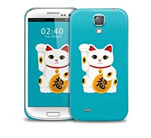 Lucky Cat Samsung Galaxy S4 GS4 protective phone case