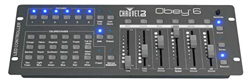 CHAUVET DJ Obey 6 Compact Universal LED Controller | LED Light Controllers ()