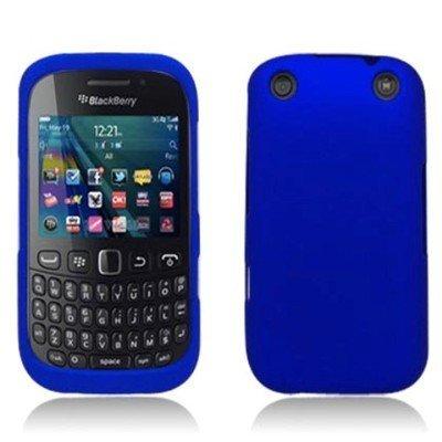 For RIM BlackBerry Curve 9310 Hard RUBBERIZED Case Blue ()