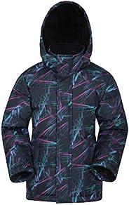 Mountain Warehouse Snow Kids Padded Rain Jacket -Warm Winter Coat