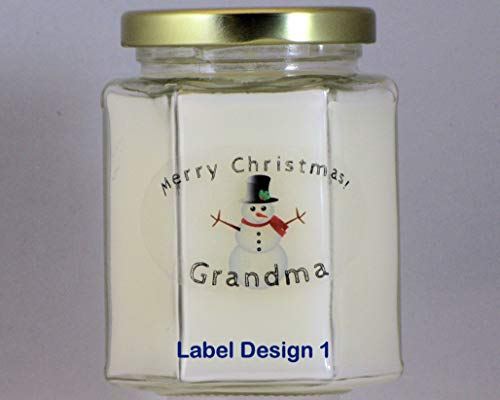 Sticks Whiff (Christmas Candles - PICK-A-SCENT - PICK-A-LABEL - Great Smelling Blended Soy Christmas Candles)