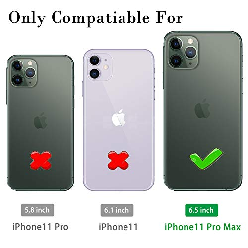 iPhone 11 Pro Max Case with Tempered Glass Screen Protector [2Pack], LeYi Military Grade Armor Phone - http://coolthings.us