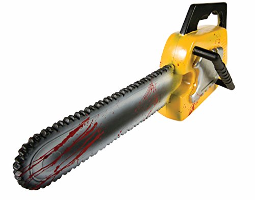 Forum Novelties Bloody Chainsaw, Yellow ()