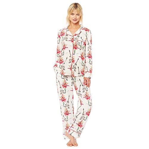 La Fleur Eiffel Pima Knit Pajama ()