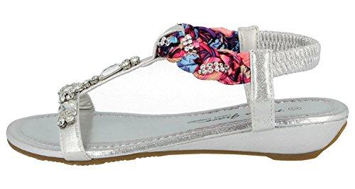 Sandali Silver Footwear Foster Silver Donna Sandali Donna Foster Footwear Foster Footwear Sandali tSq6FwxAp
