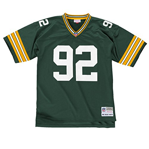 Mitchell & Ness Reggie White Green Bay Packers NFL Throwback Jersey - Green