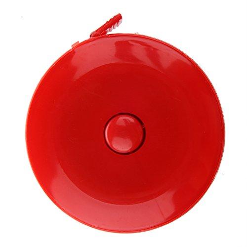 テープメジャー,SODIAL(R)リトラクタブルドレスメーカーのテープメジャー 60インチ ~ 150cm 盛り合わせ沢山のカラーの商品画像