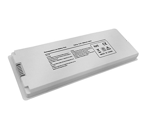 Rechargeable Macbook Battery White - Novelty 10.8V 5600mAh/60Wh New Laptop Battery for Apple acBook 13