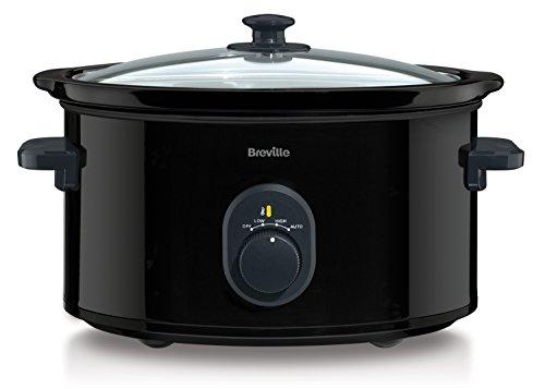 -[ Breville VTP105 Black 4.5 L Slow Cooker  ]-