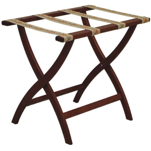(Wooden Mallet LR2 Deluxe Luggage Rack )