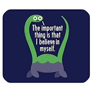 Generic Personalized The Important Thing is That I Believe in Myself for Rectangle Mouse Pad