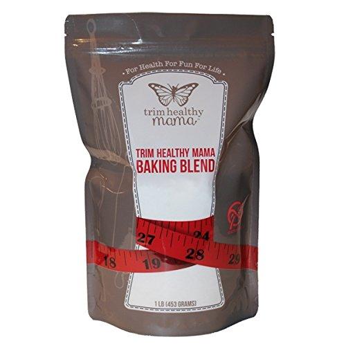 Trim Healthy Mama Gluten Free, Low Glycemic, High Fiber Baking Blend 1 (Trim Healthy)