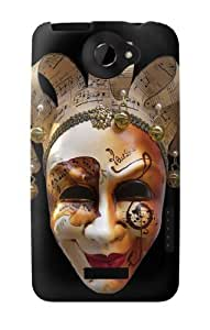 S0584 Venice Carnival Mask Case Cover for HTC ONE X by lolosakes
