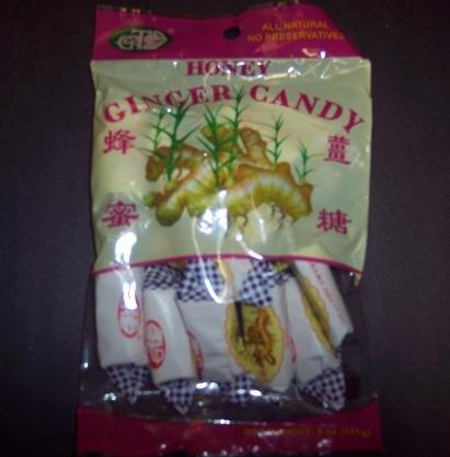 Honey ginger candy multipack(12 bags) 5 oz. per bag