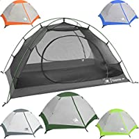 Hyke & Byke Yosemite 1 and 2 Person Backpacking Tents...