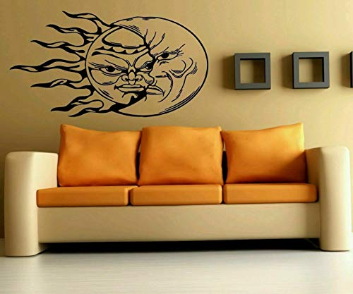 Cityscape Wall Bracket (Tomikko Wall Art Vinyl Sticker Decal Mural Decor The Moon Changes The Sun Sky #1021 | Model DCR - 495)