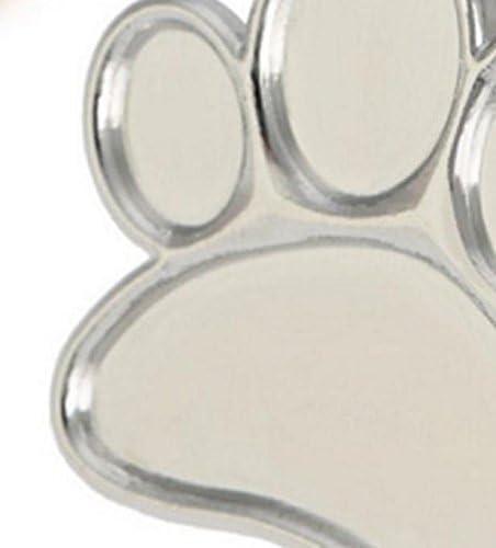 Patte de chien DinRoll Petite palette Pour le m/élange de couleur pour le vernis Acier inoxydable