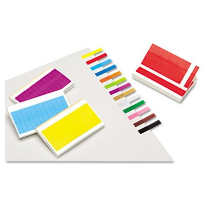 Redi-Tag Removable/Reusable Page Flags, 13 Assorted Colors, 240 Flags/Pack
