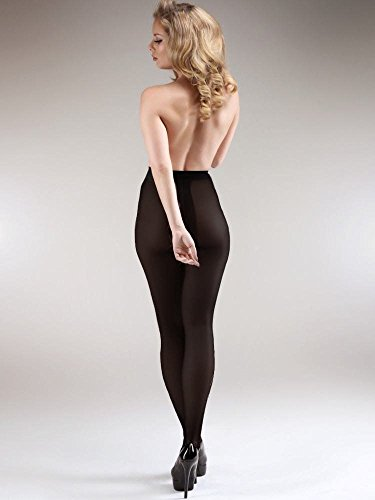 85d83ff6312 Miss Naughty 100 Denier Opaque Crotchless Tights - Buy Online in KSA ...