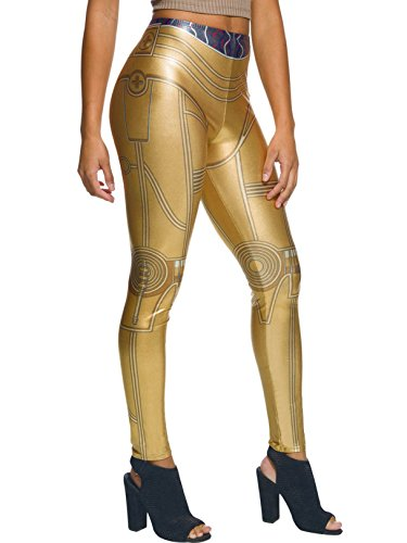 Rubie's Adult Star Wars C-3PO Costume Leggings]()