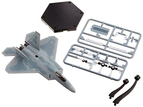 童友社 1/144 アメリカ空軍 F-22 ラプター 塗装済プラモデル №2