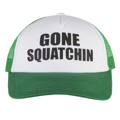 Finding Bigfoot Gone Squatchin' Hat - Green