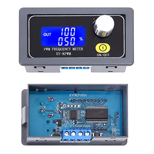 WHDTS Signal Generator 1-Channel 1Hz-150KHz PWM Pulse Frequency Duty Cycle Adjustable Module LCD Display