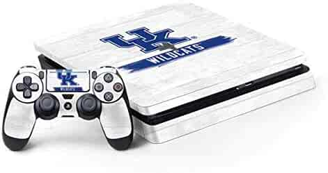 b77668408af University of Kentucky PS4 Slim Bundle Skin - UK Kentucky Wildcats Wood