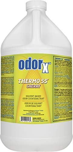 ODORx Thermo 55 Cherry Solvent-Based Odor Counteractant for Thermal Fogging, 1 Gal, 4 pk