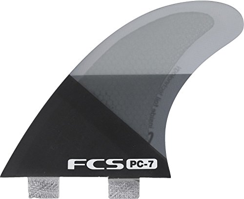 FCS PC-7 Tri-Quad Set - Black Slice Large by FCS