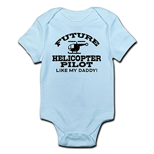 Pilot Helicopter Future - CafePress - Future Helicopter Pilot Infant Bodysuit - Cute Infant Bodysuit Baby Romper
