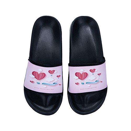 Negro M EU Irma00Eve Talla Mujer Zapatillas casa de para Estar por 39 Color Aq7gw8qPFU