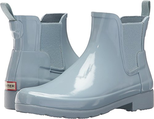 - Hunter Women's Original Refined Chelsea Gloss Fountain Blue 6 M US