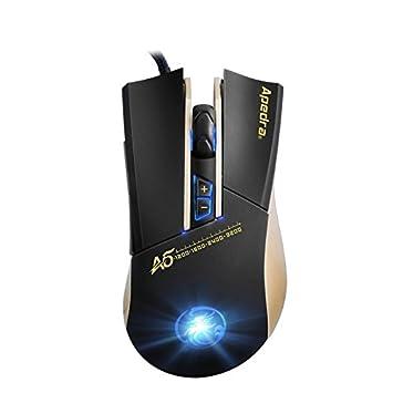 65518f89d05cc8 Wewoo Souris Noir pour Ordinateur PC Portable Haute Précision Gaming Mouse  LED Quatre Couleur contrôlée Respiration