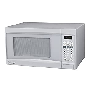 Impecca Microwave Oven with 10 Power Levels and Digital Display, 0.7 Cubic Feet, White 9