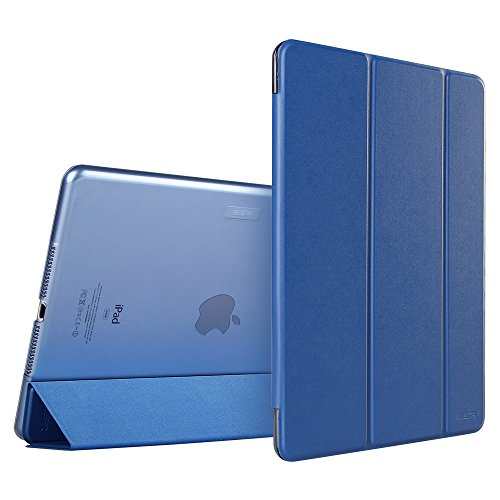 iPad Air Case, ESR Smart Case Cover [Synthetic Leather] Translucent Frosted Back Magnetic Cover with Auto Sleep/Wake Function [Ultra Slim][Light Weight] for iPad 5 (Navy Blue) (Ipad Air Cover Case compare prices)