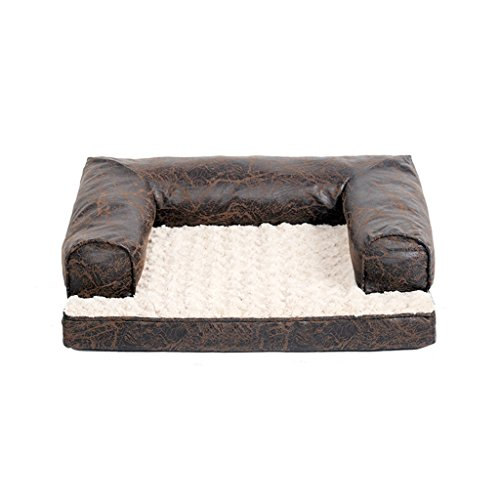 CHONGWFS Sofá cómodo de la descompresión del perro Masaje impermeable Estera del perro para perros pequeños (60 * 48 *...