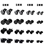 Best Jewelry For 3s - Thunaraz 16 Pairs Stainless Steel Stud Earrings Review