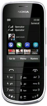Téléphone GSM NOKIA ASHA 202 DUAL GRIS