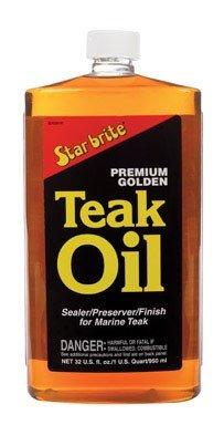 STAR BRITE Premium Gold Teak Oil Quart (Oil Teak Golden Star Brite Premium)