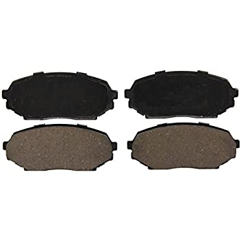 New QuietCast Disc Brake Pad Set Rear BP458 for Mazda Miata Protege