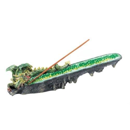 香炉ホルダー、樹脂ドラゴン香炉ホルダーfor Incense Stick B079D8Q7KD