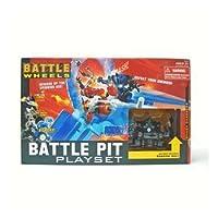 Battle Wheels - Battle Pit Playset con el exclusivo Shadow Vul