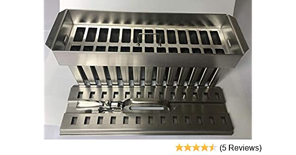 Amazon.com: Ice Lolly Mold Stainless Steel Ice Cream Mold Popsicle Mold Ice Pop Mould 123ml 26cavity Mexicana Paleta Food Class by Ykchanger: Kitchen & ...