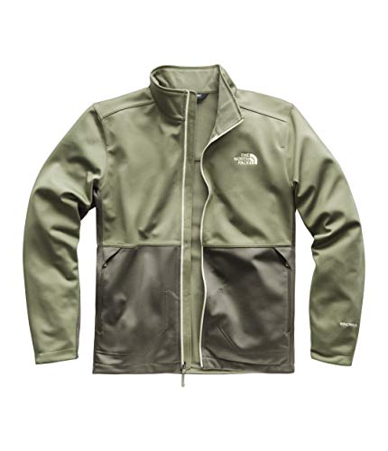 The North Face Men's Apex Canyonwall Jacket Four Leaf Clover/New Taupe Green X-Large