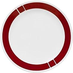 Corelle Livingware 10-1/4-Inch Dinner Plate Urban Red(Single  sc 1 st  Amazon.com & Amazon.com: Plastic - Holiday / Dinner Plates / Plates: Home \u0026 Kitchen