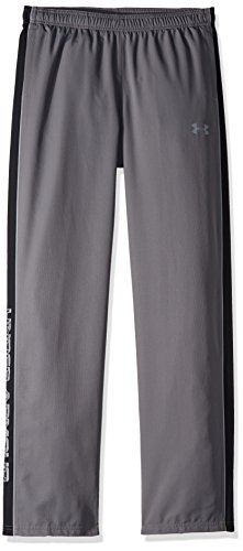 Woven Warm Up Pant - Under Armour Boys Interval Warm-Up Woven Pants, Graphite (040)/Steel, Youth X-Large
