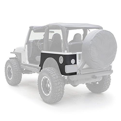 Smittybilt 76874 XRC Rear Corner Guards, 97-06 TJ Wrangler Textured Black (Jeep Corner Wrangler)